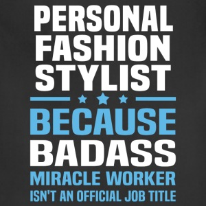 Personal Fashion Stylist Tshirt - Adjustable Apron