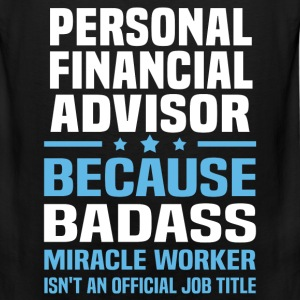 Personal Financial Advisor Tshirt - Men's Premium Tank