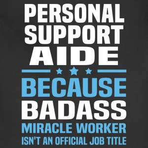 Personal Support Aide Tshirt - Adjustable Apron