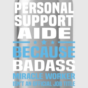 Personal Support Aide Tshirt - Water Bottle