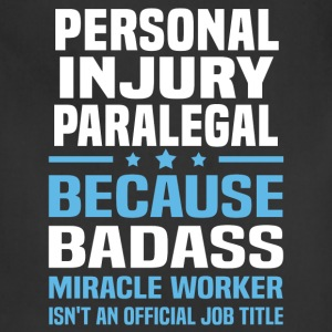 Personal Injury Paralegal Tshirt - Adjustable Apron