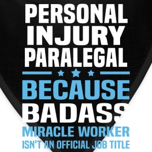 Personal Injury Paralegal Tshirt - Bandana