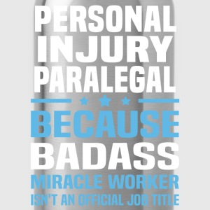 Personal Injury Paralegal Tshirt - Water Bottle