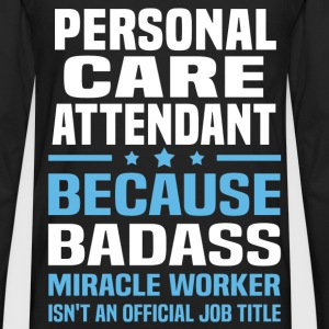 Personal Care Attendant Tshirt - Men's Premium Long Sleeve T-Shirt