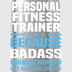 Personal Fitness Trainer Tshirt - Water Bottle