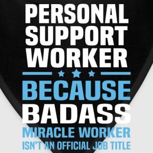 Personal Support Worker Tshirt - Bandana