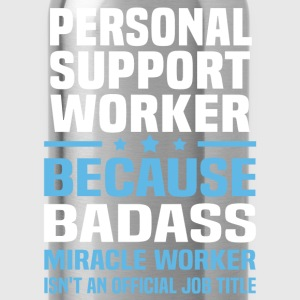 Personal Support Worker Tshirt - Water Bottle