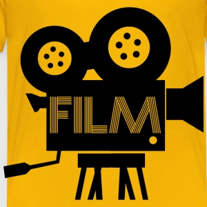 Old Fashioned Film Camera Icon - Toddler Premium T-Shirt