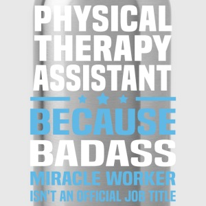 Physical Therapy Assistant Tshirt - Water Bottle