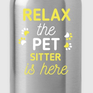 Pet Sitter - Relax, the pet sitter is here - Water Bottle