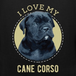 Pet Lovers - I love my cane corso - Men's Premium Tank