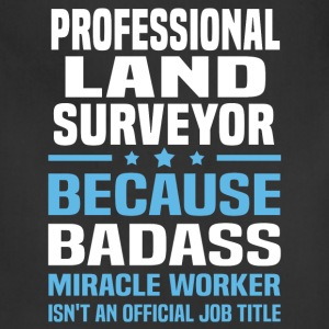 Professional Land Surveyor Tshirt - Adjustable Apron
