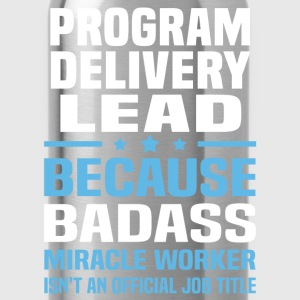 Program Delivery Lead Tshirt - Water Bottle