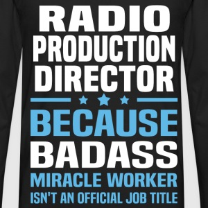 Radio Production Director Tshirt - Men's Premium Long Sleeve T-Shirt