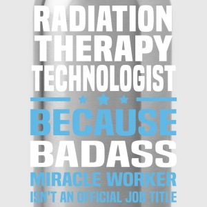 Radiation Therapy Technologist Tshirt - Water Bottle