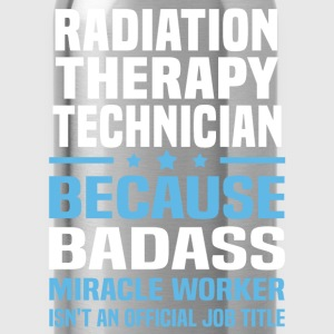 Radiation Therapy Technician Tshirt - Water Bottle