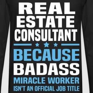 Real Estate Consultant Tshirt - Men's Premium Long Sleeve T-Shirt