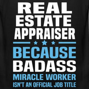 Real Estate Appraiser Tshirt - Men's Premium Tank