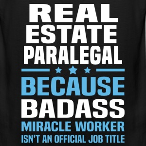 Real Estate Paralegal Tshirt - Men's Premium Tank