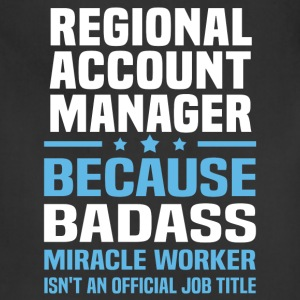 Regional Account Manager Tshirt - Adjustable Apron