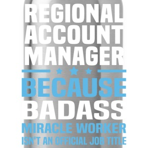 Regional Account Manager Tshirt - Water Bottle