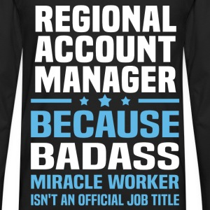 Regional Account Manager Tshirt - Men's Premium Long Sleeve T-Shirt