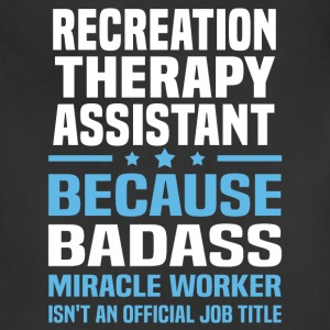 Recreation Therapy Assistant Tshirt - Adjustable Apron