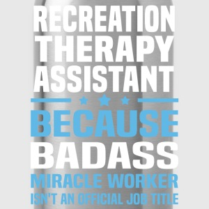 Recreation Therapy Assistant Tshirt - Water Bottle