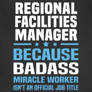 Regional Facilities Manager Tshirt - Adjustable Apron