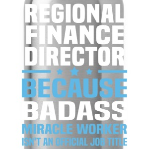 Regional Finance Director Tshirt - Water Bottle