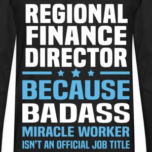 Regional Finance Director Tshirt - Men's Premium Long Sleeve T-Shirt