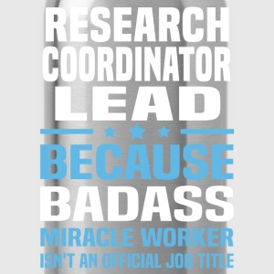 Research Coordinator Lead Tshirt - Water Bottle