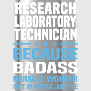 Research Laboratory Technician Tshirt - Water Bottle