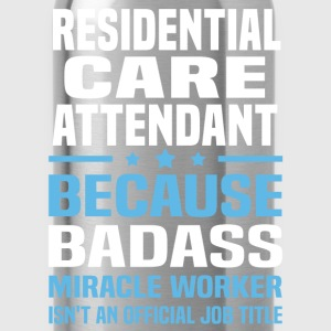 Residential Care Attendant Tshirt - Water Bottle
