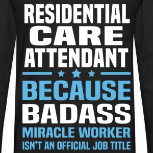 Residential Care Attendant Tshirt - Men's Premium Long Sleeve T-Shirt