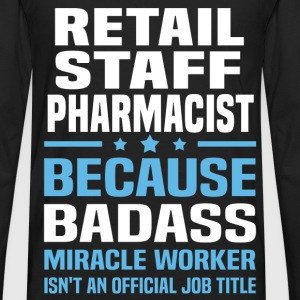 Retail Staff Pharmacist Tshirt - Men's Premium Long Sleeve T-Shirt