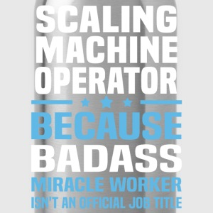 Scaling Machine Operator Tshirt - Water Bottle