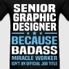 Senior Graphic Designer Tshirt - Men's T-Shirt