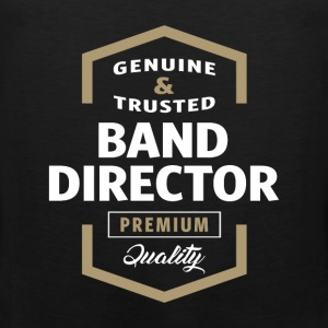 Band Director Logo T-shirt - Men's Premium Tank