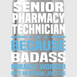 Senior Pharmacy Technician Tshirt - Water Bottle