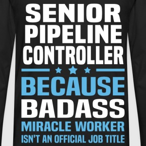 Senior Pipeline Controller Tshirt - Men's Premium Long Sleeve T-Shirt