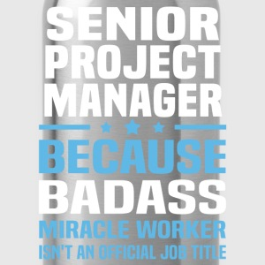 Senior Project Manager Tshirt - Water Bottle