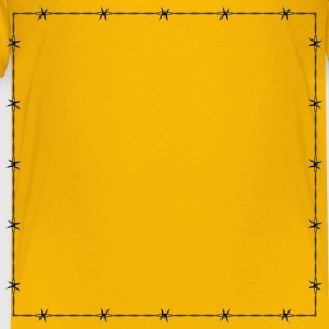 Barbed Wire Frame Border - Toddler Premium T-Shirt