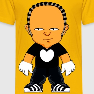 Cartoon man 8 - Toddler Premium T-Shirt