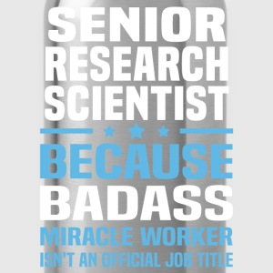 Senior Research Scientist Tshirt - Water Bottle