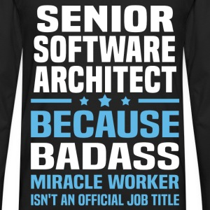 Senior Software Architect Tshirt - Men's Premium Long Sleeve T-Shirt