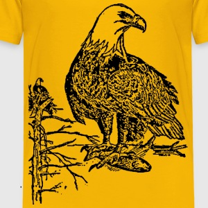 Bald Eagle - Toddler Premium T-Shirt