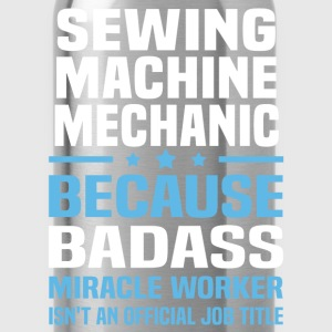 Sewing Machine Mechanic Tshirt - Water Bottle