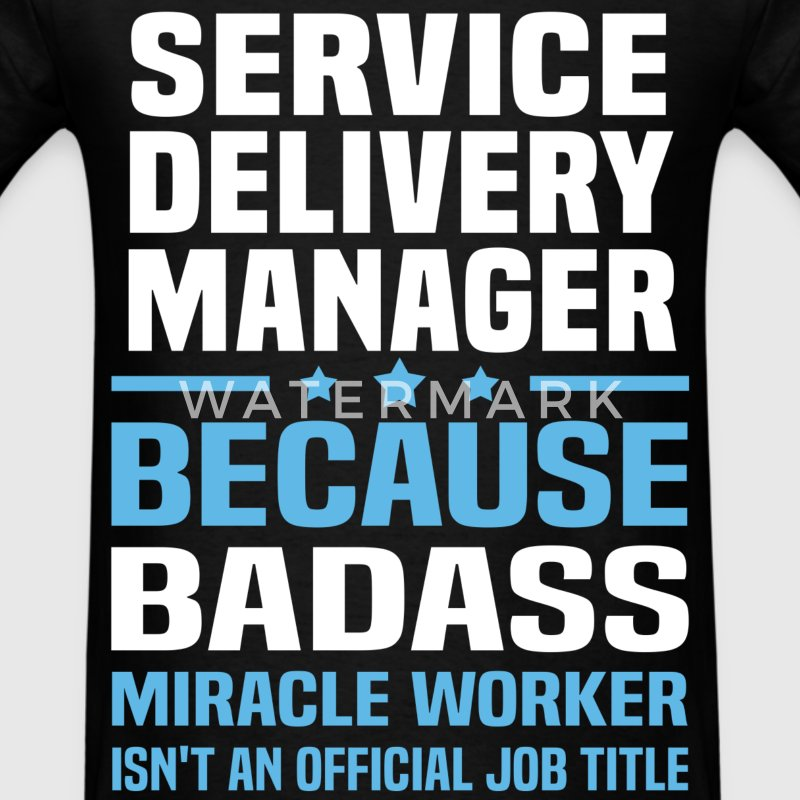 Service Delivery Manager Tshirt - Men's T-Shirt