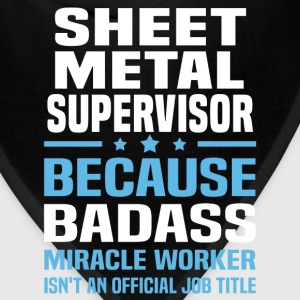 Sheet Metal Supervisor Tshirt - Bandana